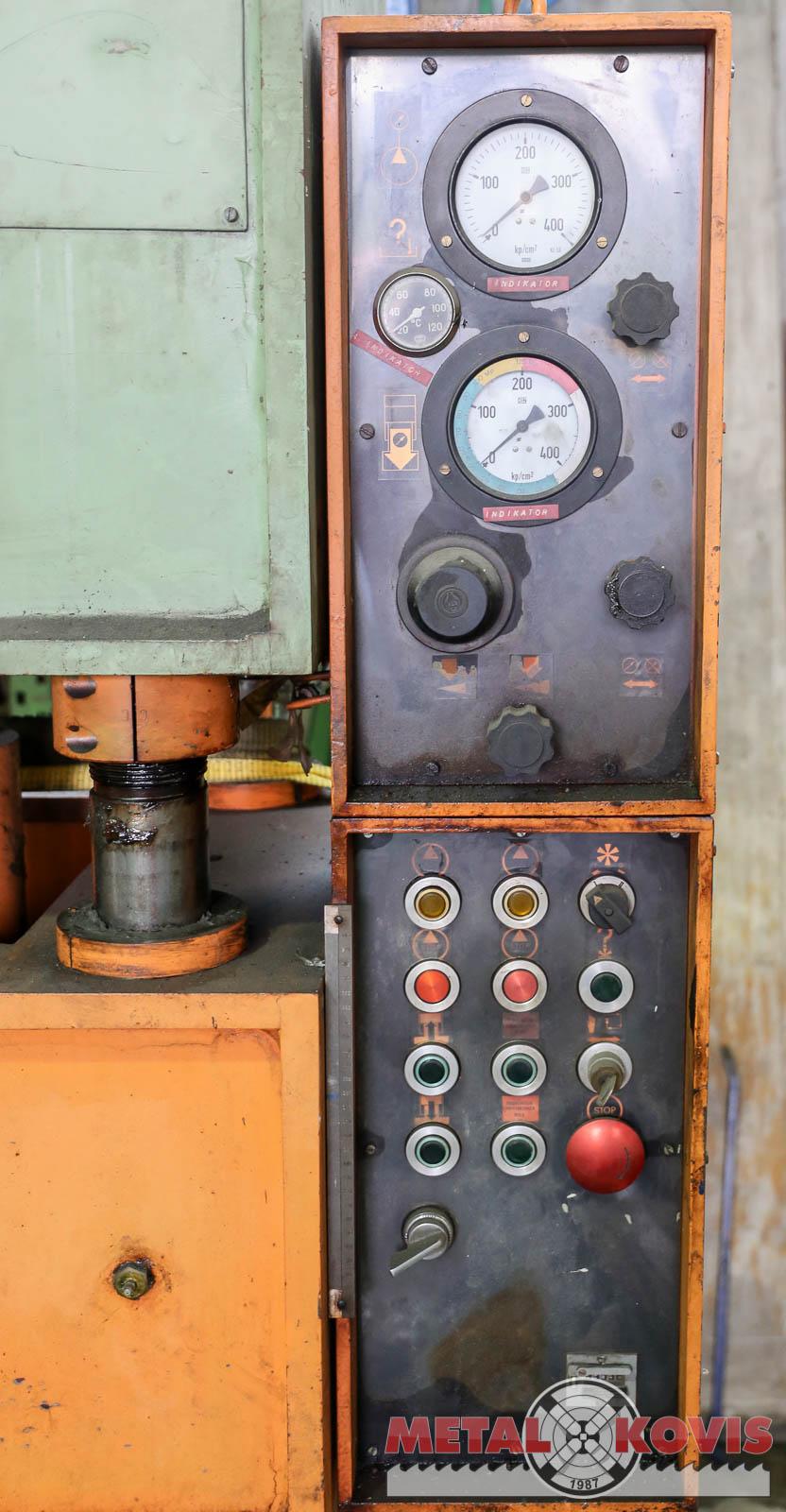 Hidraulična preša Litostroj 100t HPS-1-100-400-800-630-2