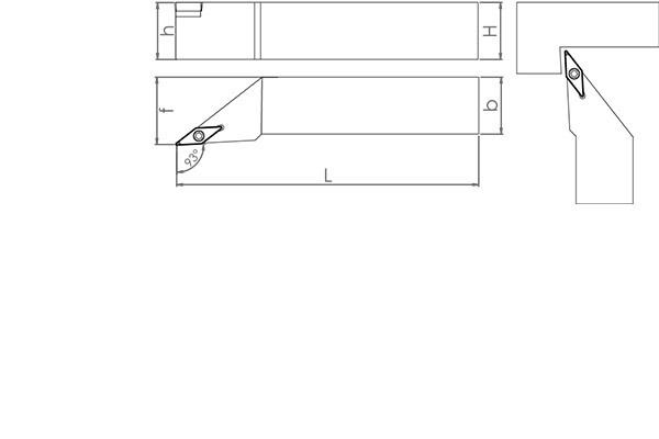 Držač pločice SVJCR 2525 M16