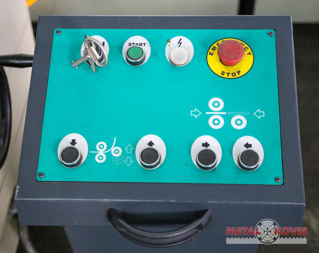 Valjci za savijanje lima MRM-S 2550x190