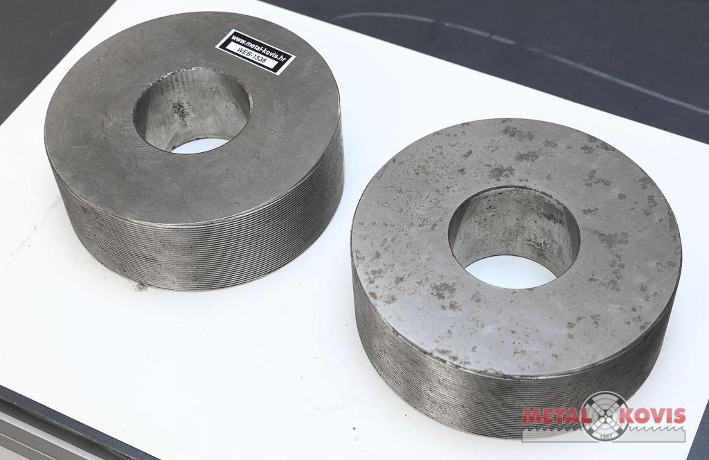 Valjci za valjanje navoja M12x1,75 - set