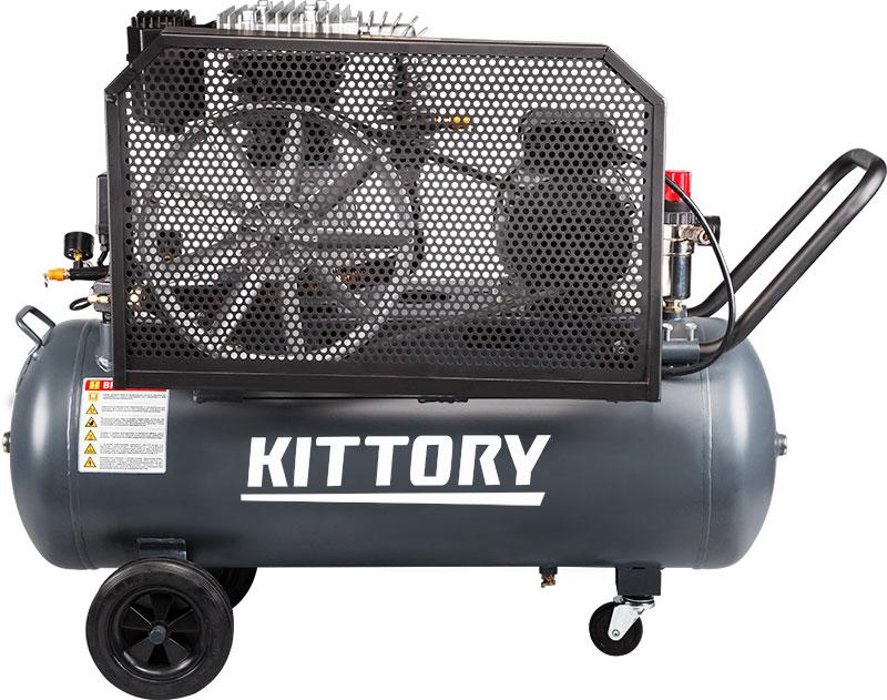 Kompresor KAC-100-80S, posuda 100 l, 220 V, KITTORY