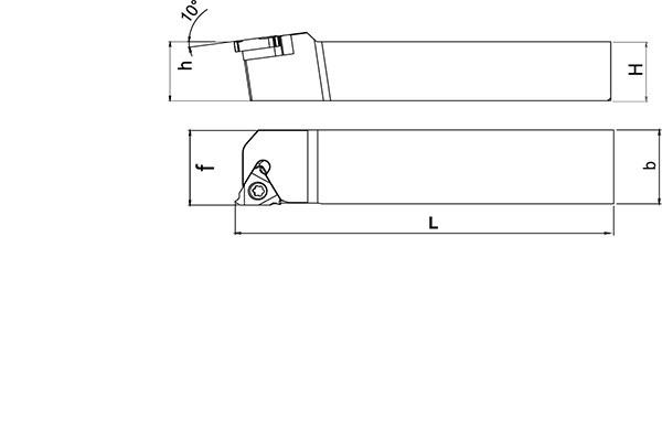 Držač pločice SER 2525 M16