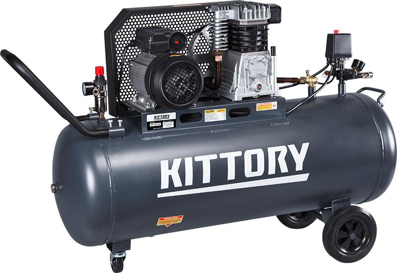 Kompresor KAC-150-70S, posuda 150 l, 220 V, KITTORY