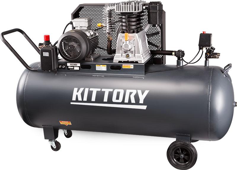 Kompresor KAC-300-90S3, posuda 300 l, 380 V, KITTORY