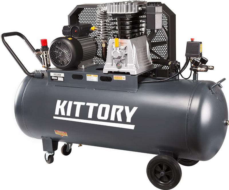 Kompresor KAC-200-80S, posuda 200 l, 230 V, KITTORY
