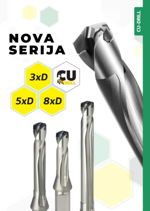Twist Drills BFT Series: CU-DRILL 3xD, 5xD,8xD Price