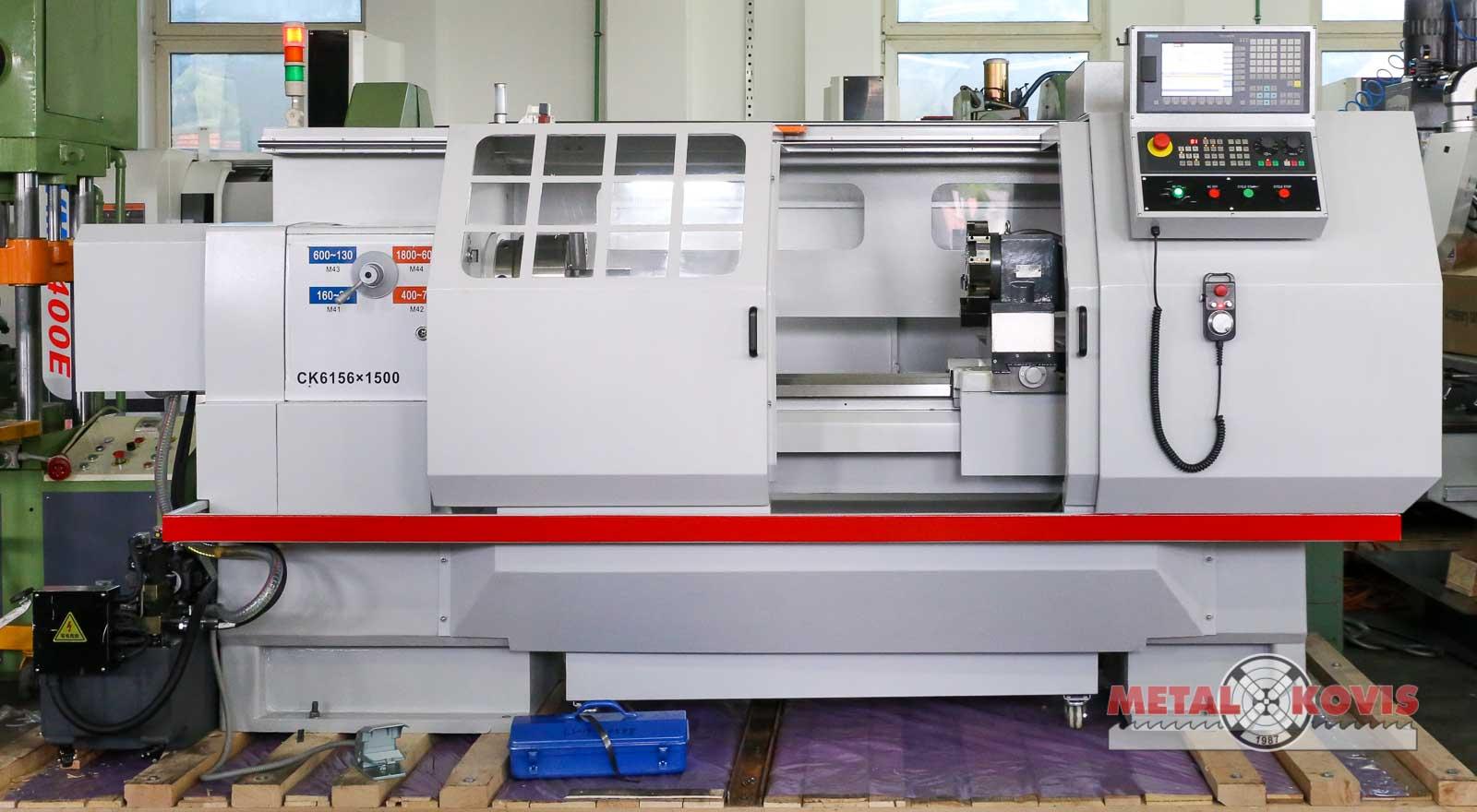 CNC tokarski stroj CK6156x1500, Siemens 808D