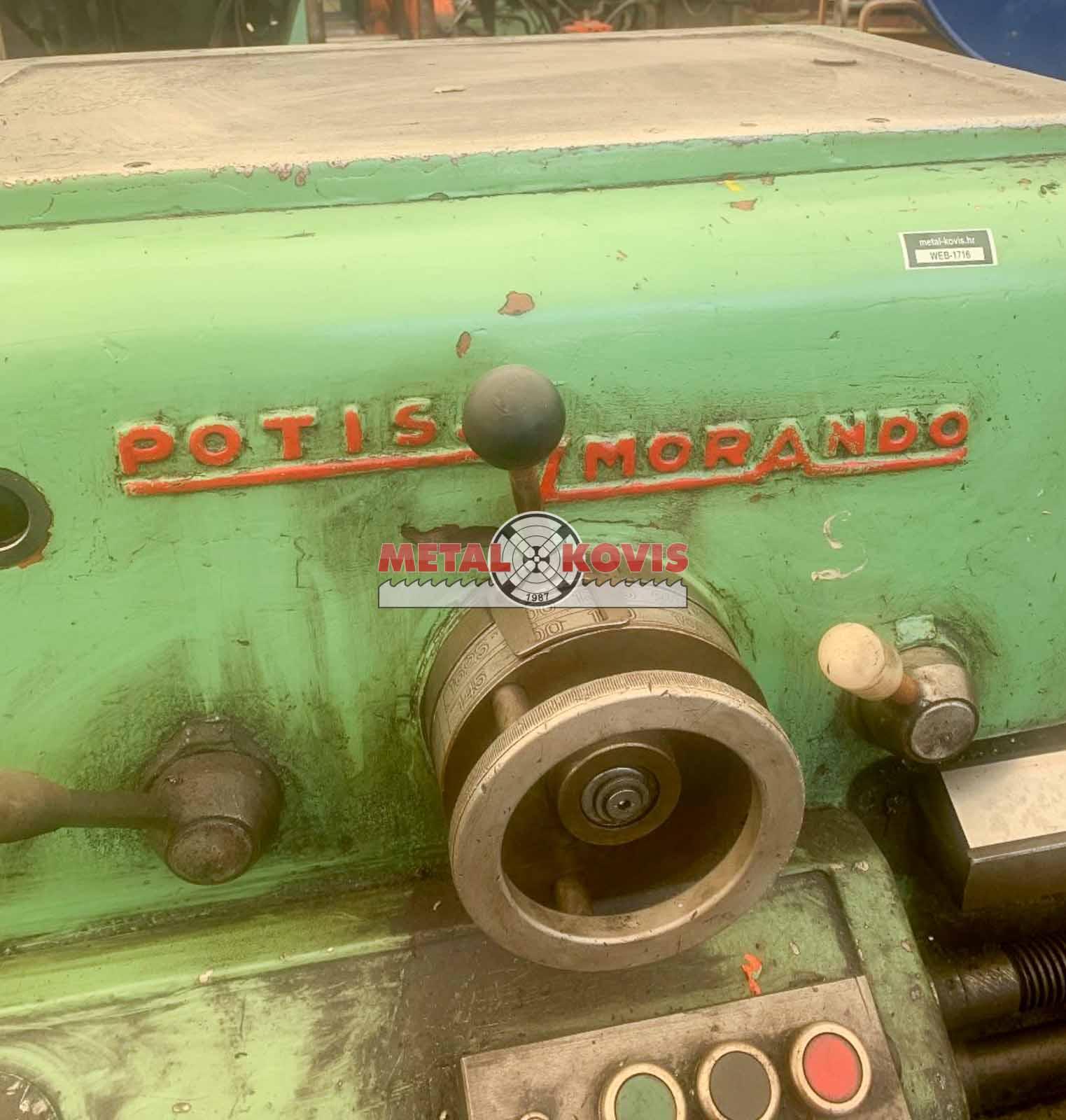 Tokarski stroj Potisje ADA Morando 500x1000 mm