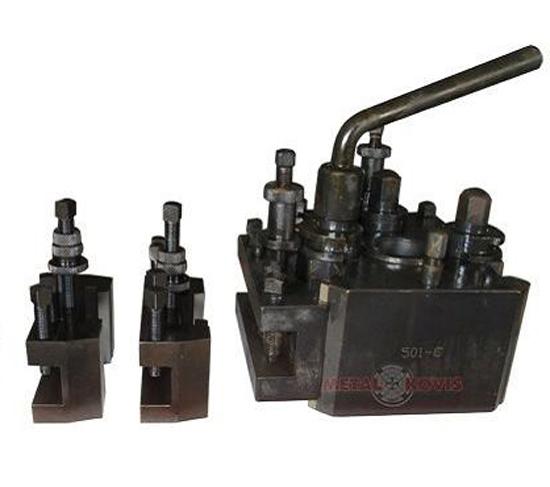 Brzoizmjenjiva glava za tokarski stroj s 3 držača alata 501-B
