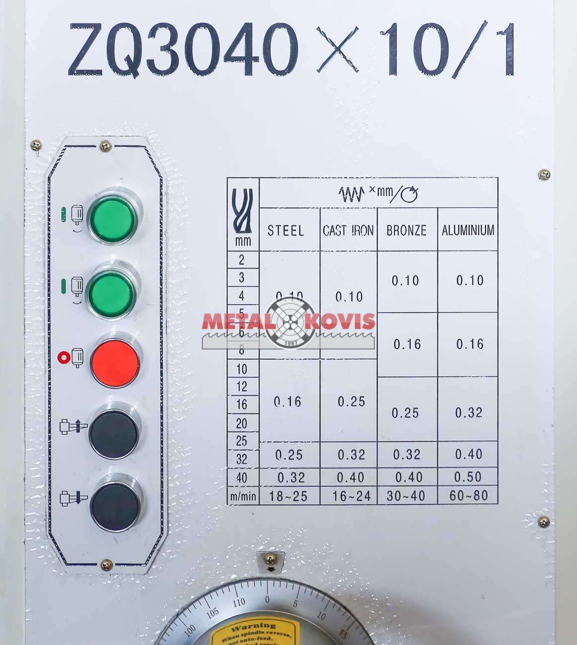 Bušilica ZQ 3040x10/1