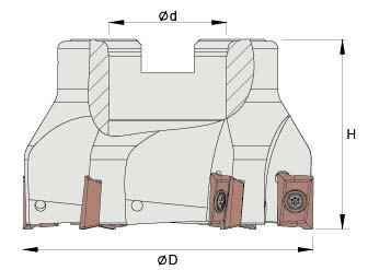 Glodaća glava A90 63-5-22