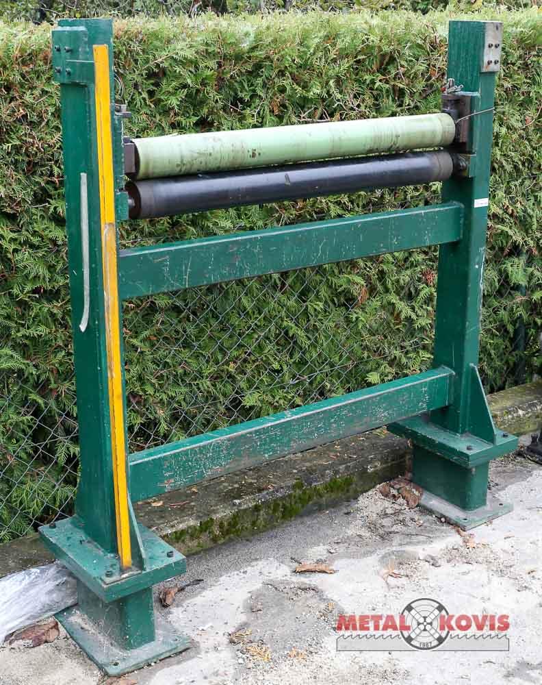 Linija za odmatanje i ravnanje lima s odrezom na mjeru, 1 mm