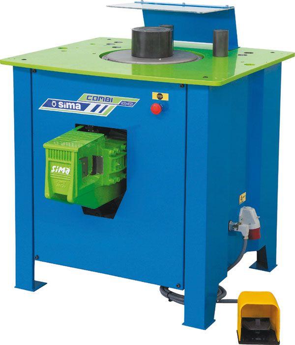 Stroj za savijanje armaturnih šipki SIMA COMBI  25-30 / 30-35 / 36-42 serija