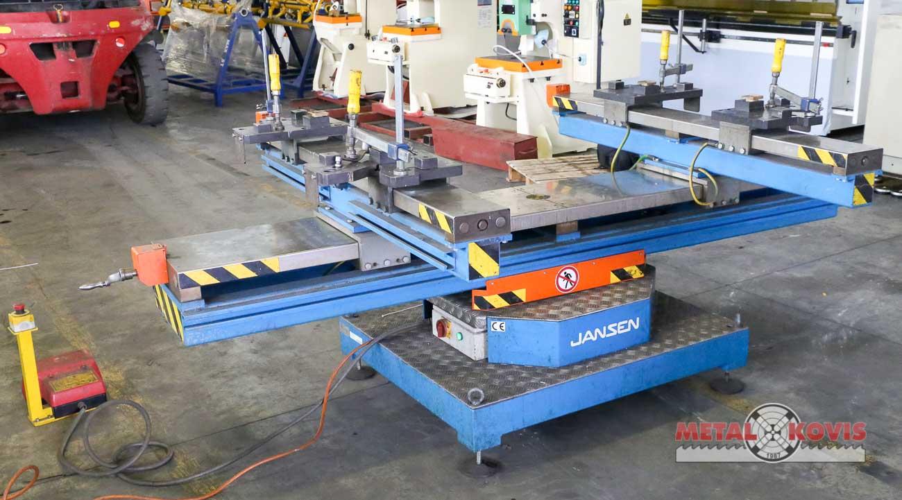 Rotirajući stol za zavarivanje konstrukcije JANSEN SK 02