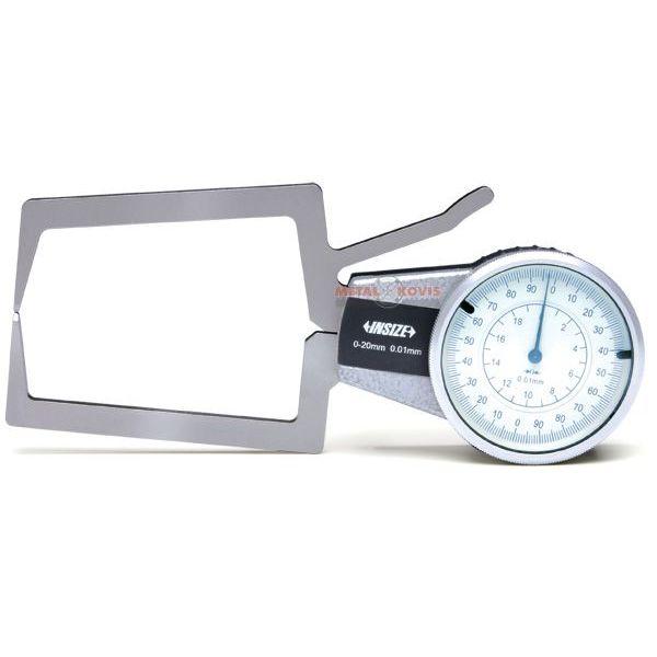 Mjerilo za mjerenje profila, 0-20 mm