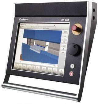 Apkant preša APHS 3106 mm 120t, CNC 3D